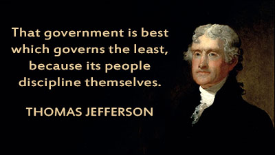 That government is best which governs the least, because its people discipline themselves.