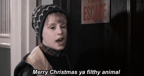 home alone quotes - Merry christmas ya filthy animal.