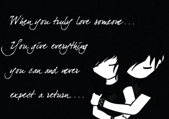 A24 gangster quotes. When you truly love someone. You give everything you can and never expect nothing in return.