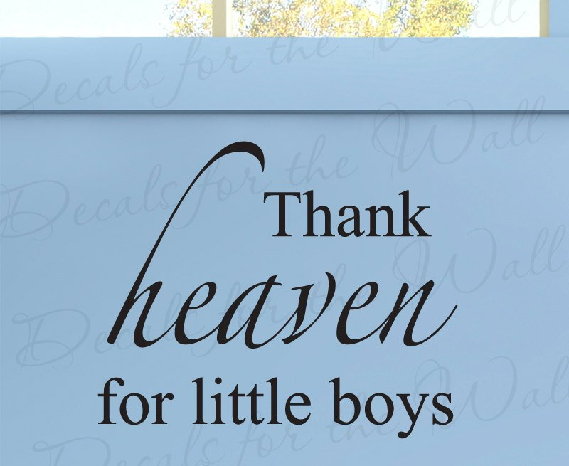 baby boy quotes A12. Thank heaven for little boys.