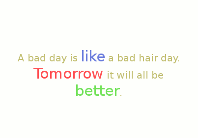 bad day quotes A10