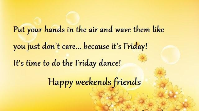 happy friday quotes A4