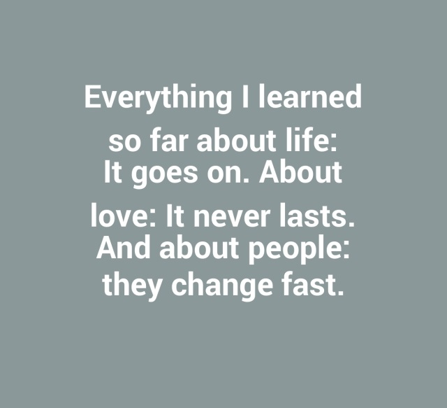 Life Moves On Quotes Prepossessing Life Goes On Quotes