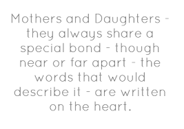 mother and daughter quotes A19