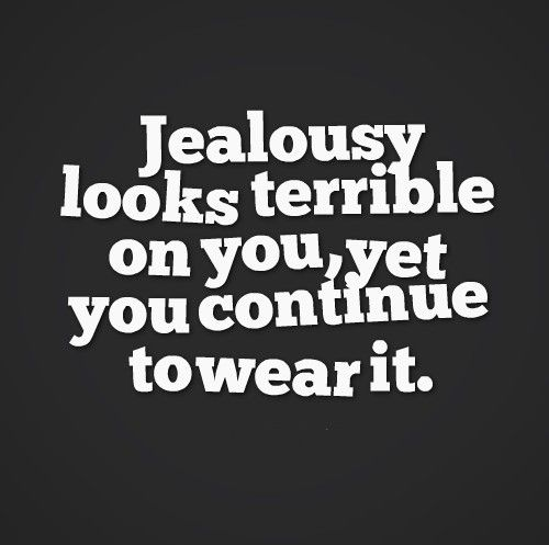 quotes about jealousy A1