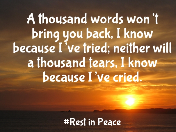 rest in peace quotes A7